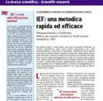Screen_IEF - Una metodica rapida ed efficace